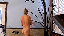 Alina Lubov working out nude - more on DigitalTeenPorn.com