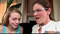 Samantha Ryan teachs stepdaughter Ava Hardy porn thumbnail
