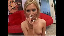Swallows three loads. Who is this girl? Name?
