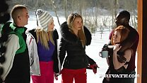 Haley Hill and Katrin Tequila Have an Alpine...