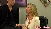 Sexy Milf Julia Ann Milks Him on Date Night! Vorschaubild