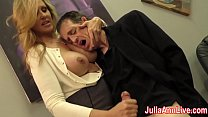 Sexy Milf Julia Ann Milks Him on Date Night! Thumbnail