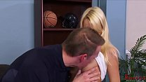 Gorgeous Blonde Suck It In The Office