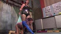 Huxly Smashes Supergirl - Saharra Huxly, Pixie Vonbat  - 10
