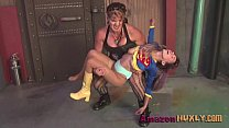 Huxly Smashes Supergirl - Saharra Huxly, Pixie VonBat,Verified uploader