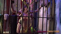 Huxly Smashes Supergirl - Saharra Huxly, Pixie Vonbat  - 25
