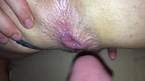 Huge dripping anal creampie Thumbnail