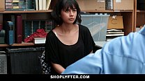 Shoplyfter - Corrupt Teen Blackmailed & Fucked video