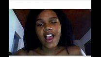 HOT EBONY GIRL ON WEBCAM - MORE FREE LIVE WEBCAM VIDEOS AT www.reallyhotcam.com