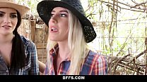 Hot Country Girls Share A Cock ◦ {BFFS} thumbnail