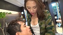 Image: JAV hair salon audacious blowjob Ian Hanasaki Subtitled