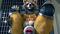 Rocket Raccoon and Fox Yiff (with sound!)