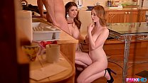 Busty British babes Lucia Love and Zara DuRose ...