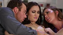 Sister-in-law teaching how to squirt - Maddy O'Reilly, Gabi Paltrova, Chad White preview image