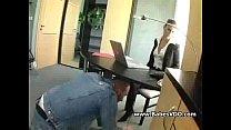 Technician Pleasing Horny Secretary