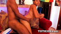 Hot young dominican teen fucked doggystyle in D...