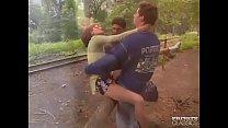 Margot, Anal Threesome in the Railway Vorschaubild