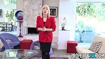 PropertySex - Red blazer agent Lily Labeau fornicates in mansion Vorschaubild