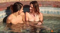 Drowning In Her Flower - Ellena Woods and Nina North pornhub video