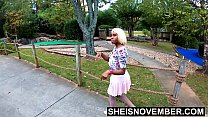 17735 4k HD Hardcore Ebony Step Daughter Fucking Step Dad And Boyfriend Same Day At Mini Golf Course Pornstar Msnovember HD Sheisnovember preview