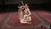 BDSM Teacher Queening Her Newest Student