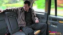 Female Fake Taxi Dirty Driver Gargles Coppers Cum
