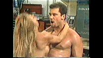 Mark Davis and a blonde
