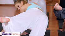 FitnessRooms Gym couple cant resist sex in the gym thumbnail