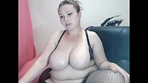 Thick with big belly and nice tits on cam