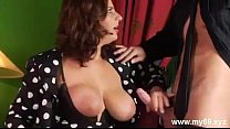 Luxurious german MATURE with big tits gets creampied and cumshot Vorschaubild
