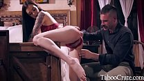 TEEN DAUGHTER UNCOVERS DAD'S REPRESSED DARK AND KINKY PAST