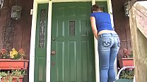 Bursting To Pee, Teenage Girl Can't Hold It Outside of Her Friend's House preview image