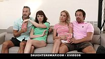 DaughterSwap - Hot Teens (Aliya Brynn) (Paisley Bennett) Trade Dads For Hardcore Sex