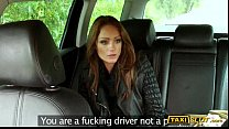 Pretty brunette babe Sophie pounded for a free taxi fare