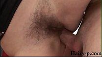 Hairy pussy whore fucked from behind Vorschaubild