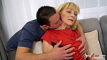 AgedLovE Blonde Mature Fucked Hard By Youngster porn thumbnail