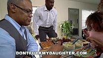 DON'T FUCK MY DAUGHTER - Black Teen Kendall Woods Fucks Her Father's Friend, Jax Slayher - 69VClub.Com