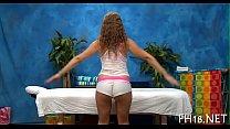 Lovely babe likes massage Image