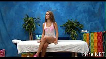Lovely babe likes massage preview image