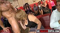 05 Lovely cum guzzling cunts at sex party18