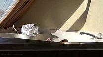 Cute asian 18yo teen: hot-tub tease machine [안경쓴여자 glasses]