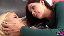 Mature Stepmom Sixtynines Her Taboo Teenager