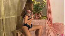 Fedorov russian skinny teen Alisa long hair cut...