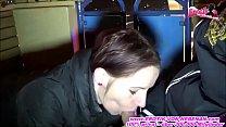 Deutsche Exfreundin macht blowjob auf Kirmes Riesenrad in public صورة