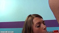 Teen squirting for the first time and becomes a whore! thumbnail