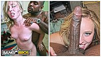 BANGBROS - Georgia Peach Sofie Carter Takes Rico Strong's Big Black Dick