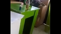 Horny friends having sex in Kenyan bar preview image