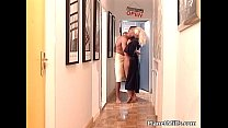 MILF blonde is one nasty bitch who