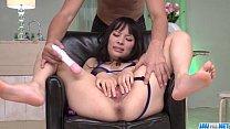 11497 Big tits Kyouko Maki enjoys toy porn along her man preview