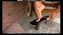 Black high heels & toes fetish - Download mp4 XXX porn videos